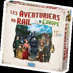 Les aventuriers du rail Europe - 15ième anniversaire (PRÉCOMMANDE)